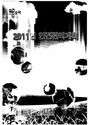 (2011)안전관리계획-1