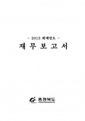 (2013회계연도)재무보고서