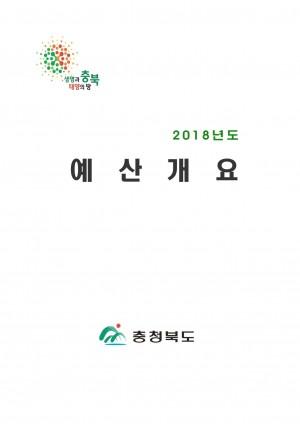 2018 예산개요